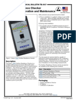 TB-3037 Surface Resistance Checker