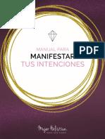 manual para manifestar intenciones