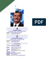 Vicente Fox - su Sexenio.