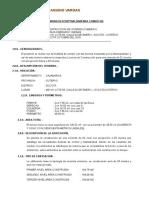 Memora Descriptiva de licencia de construccion