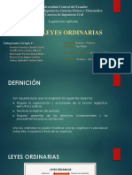 Leyes Ordinarias Final