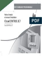 Exacontrol e7 Notice Emploi Et Installation 0020028155 0-03-2006 302656