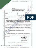 64-Sinclair MOTION to Strike Exhibit 1 of Plaintiffs' opposition