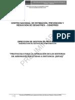 Protocolo Operacion RPAS EmegenciasDesastres Peru