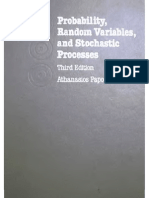 Probability, Random Variables and Stochastic Processes [Athanasios Papoulis-3rd Ed-McGraw-Hill-1991]