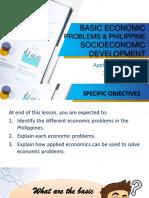 3 Basic Economic Problems and Philippine Socioeconomic Development in the 21st Century