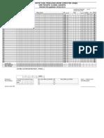 Form Analisis Butir Soal PAS