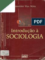 Introdução à Sociologia Sebastião Vila Nova
