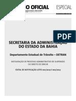 Detran-BA Abre Processo Para Suspender 40 Mil CNH; Deputados Est%C3%A3o Na Lista