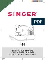 Singer 160 Eng Fr Es