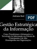 BEAL, A. GESTÃO ESTRATÉGICA DA INFORMAÇÃO.pdf