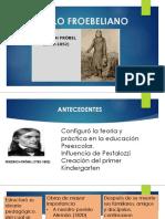 Currículo Froebeliano Antec. Fundamentos