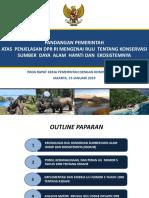 Raker Menteri Lhk Tanggal 15 Januari 2019 (Ruu Ksdahe) (Edited 14 Januari 2019)