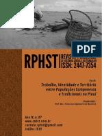 Revista Piauiense de História Social e Do Trabalho, Ano IV, n. 07