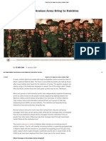 What Does the Arakan Army Bring to Rakhine State