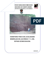 mineria de michoacan
