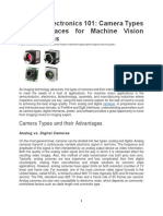 Imaging Electronics 101 - Camera Types and Interfaces for Machine Vision Applications