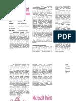 Microsoft PAINT Manual