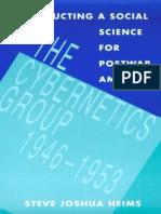 Heims Steve Joshua the Cybernetics Group 1991