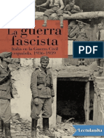 La Guerra Fascista. Italia en La Guerra Civil Española 1936-1939. Rodrigo Javier