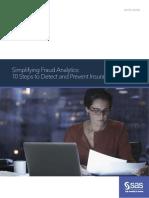 Analisis Fraud Sederhana