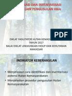 Identifikasi Dan Inventarisasi Potensi Dan Pengusulan Hutan Desa