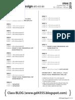 4355 ADV Graphic Design Calendar Spring 2019