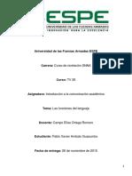 Funciones Del Lenguaje ICA