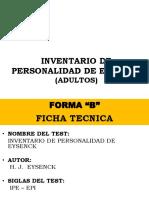 8. EYSENCK FORMA B ADULTOS.ppt