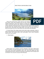 Tempat Wisata Di Sumatera Utara