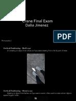 dalia jimenez - photo  final exam -2