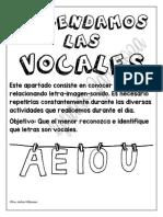 Aprendamos Las Vocales