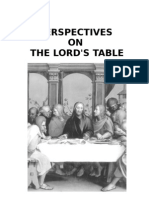Perspectives on the Lord's Table