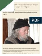 Altvater Gabriel Vom Heiligen Berg Antwortet Auf Fragen Eines Pilgers
