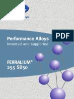Ferralium 2594 Mod Weld Matl Brochure A4