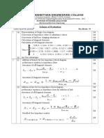 PSA Scheme of Evaluation 2014
