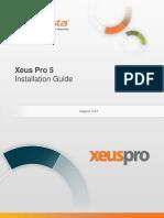 InfoVista Xeus Pro 5.2 Installation Guide