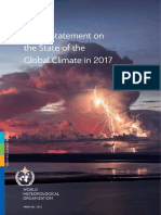 WMO Statement on the State of the Global Climate 2017
