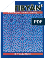 At Tibyan - Easy Way to Quranic Reading