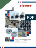 Catalog Elpreco Sistem de Canalizare Beton