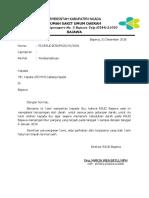 Surat Untuk Pmi