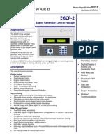 Woodward Egcp-2 Datasheet
