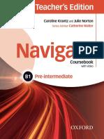Krantz Caroline Norton Julie Navigate b1 Pre Intermediate Course book