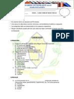 FORMATO DE EXAMEN GENERAL PRIMARIA