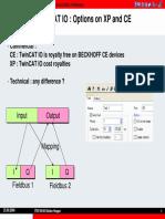 TwinCAT IO Options on XP and CE