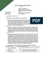 RPP Administrasi Infrastruktur Jaringan KD 2 Genap K13 TKJ