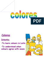 Colours in Latin