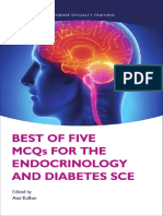 Best of Five MCQs for the Endocrinology and Diabetes SCE 1st Edition PDF (1)