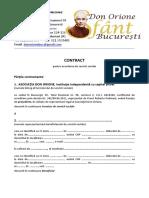 Contract de Servicii Sociale Pentru Batranilor