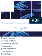 Microbial Enhanced Oil Recovery (MEOR) Group 11.ppt